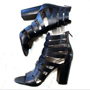 Sam Edelman Strappy Block Heels Size 9.5